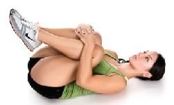 Упражнение №16 - разтягане на глутеусите 2