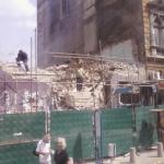 Разрушителни работи до Лъвов мост