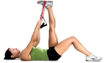 Упражнение №22 - разтягане на глутеус и подбедрица