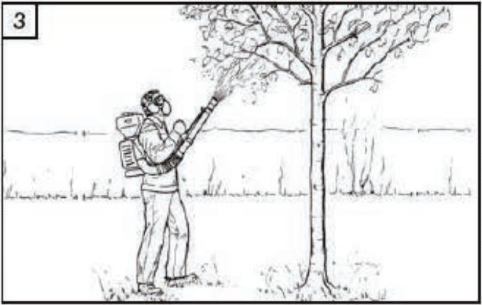 Инструкция за безопасна работа с гръбна моторна пръскачка