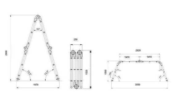 Инструкция за безопасна работа с изтеглящо опорни преносими стълби