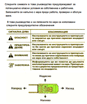 безопасно управление на кари за супервайзори