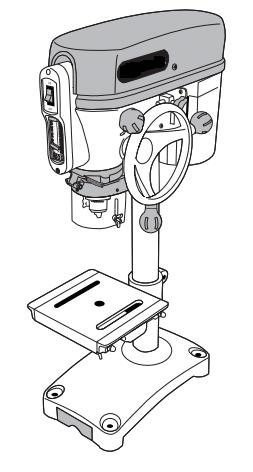 Инструкция за безопасна работа с колонна бормашина