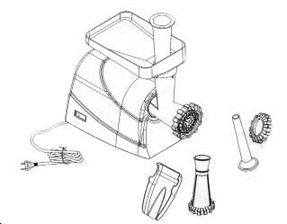 Инструкция за безопасна работа с електрическа месомелачка